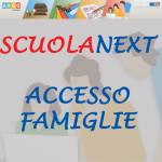 SCUOLANEXT ACCESSO FAMIGLIE